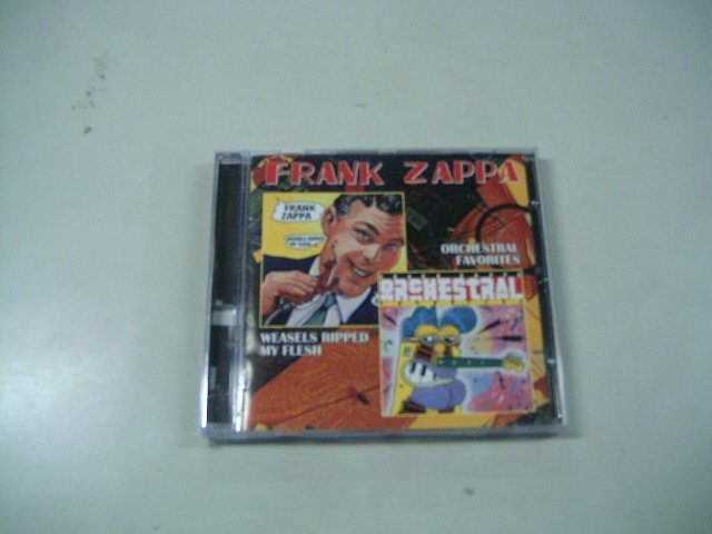 FRANK ZAPPA weasels ripped my flesh orchestral favorites CD 1970 1979 JAZZ ROCK