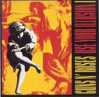 GUNS N' ROSES use your illusion 1 CD 1991 HARD ROCK