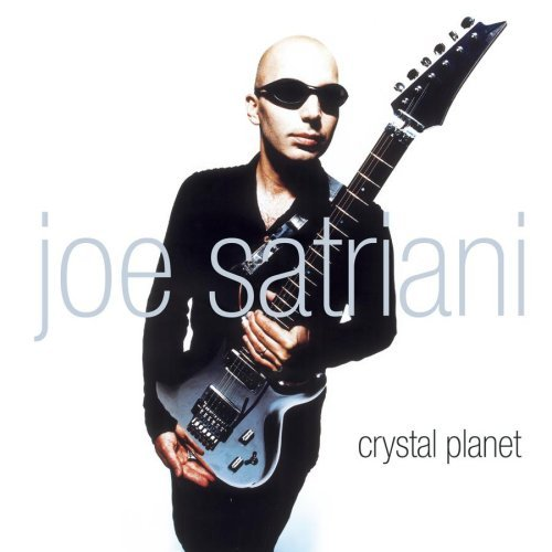 JOE SATRIANI crystal planet CD 1998 GUITAR BAND