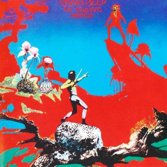 URIAH HEEP the magicians birthday CD FORMATO MINI VINIL 2003 ROCK