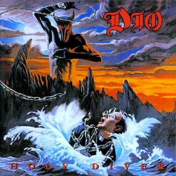 DIO holy diver CD FORMATO MINI VINIL 1983 HEAVY METAL