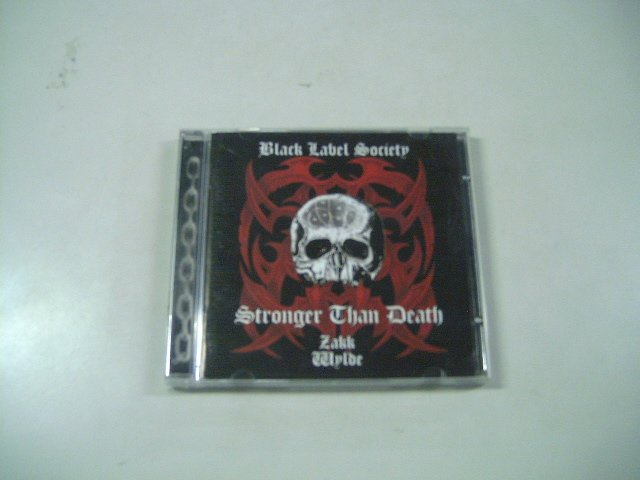 BLACK LABEL SOCIETY stronger than death CD 2000 ROCK