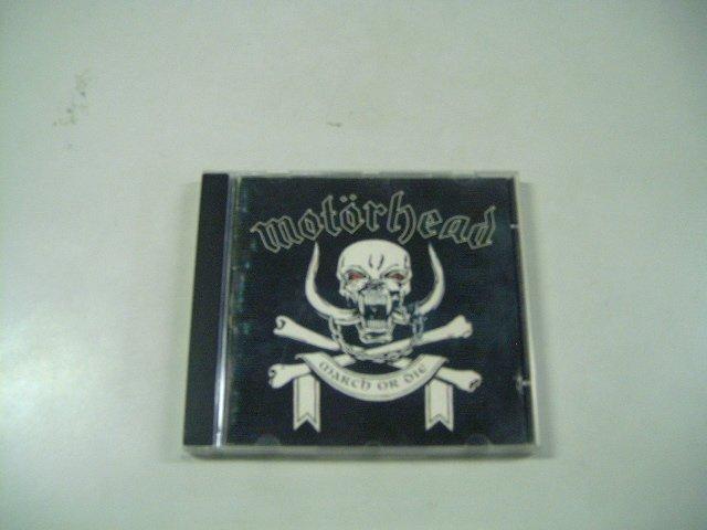 MOTORHEAD march or die CD 1992 ROCK
