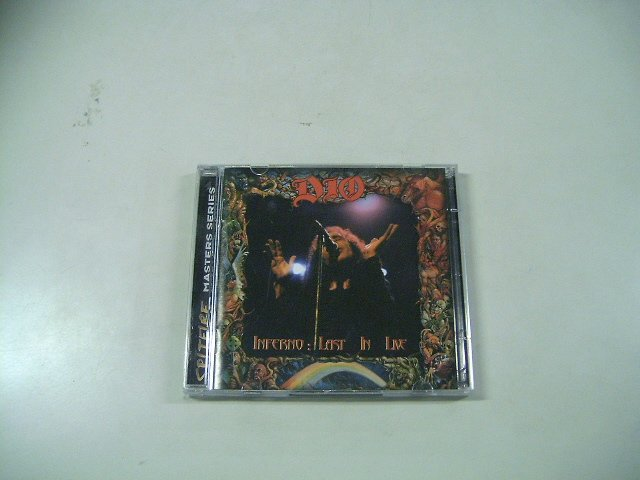 DIO inferno :  ast in live 2CD 2000 HEAVY METAL
