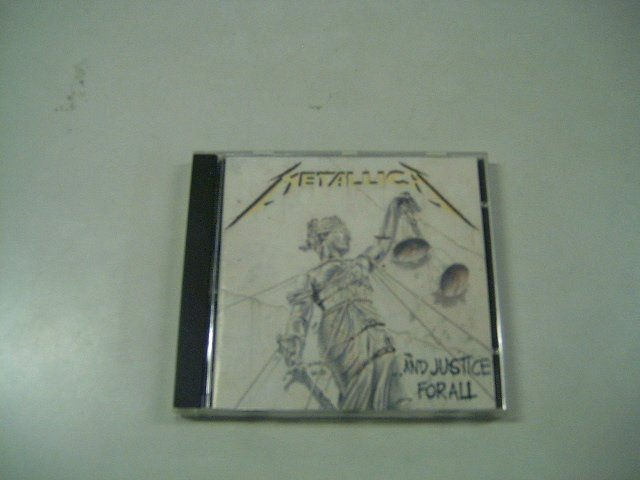 METALLICA and justice for all CD 1988 THRASH METAL