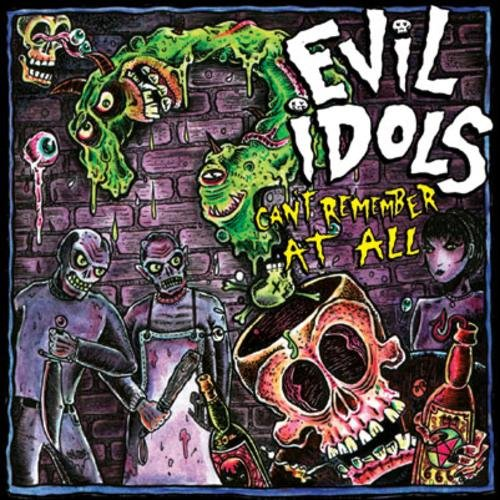 EVIL IDOLS can't remember at all CD 200? HARDCORE