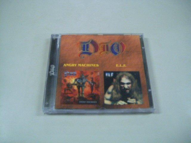 DIO angry machines E.L.F. elf CD 1996 1972 HEAVY METAL ROCK
