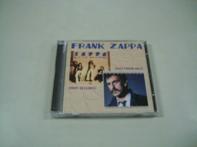 FRANK ZAPPA zoot allures jazz from hell CD 1976 1986 PSYCHEDELIC JAZZ ROCK