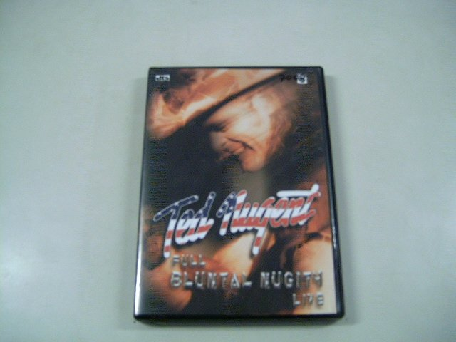 TED NUGENT full bluntal nugity live DVD 2003 ROCK