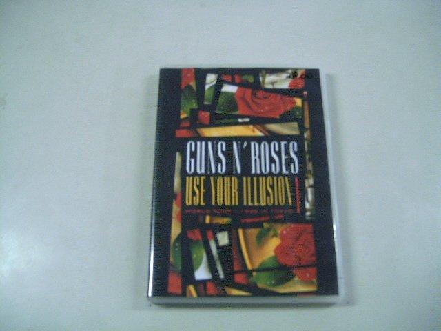 GUNS N' ROSES use your illusion 1 world tour 1992 in tokyo DVD 1992 HARD ROCK