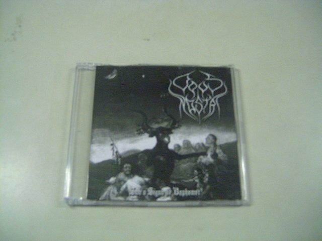 OPUS NOSTRI sob o signo de baphomet + CD BONUS CD 2008 BLACK METAL