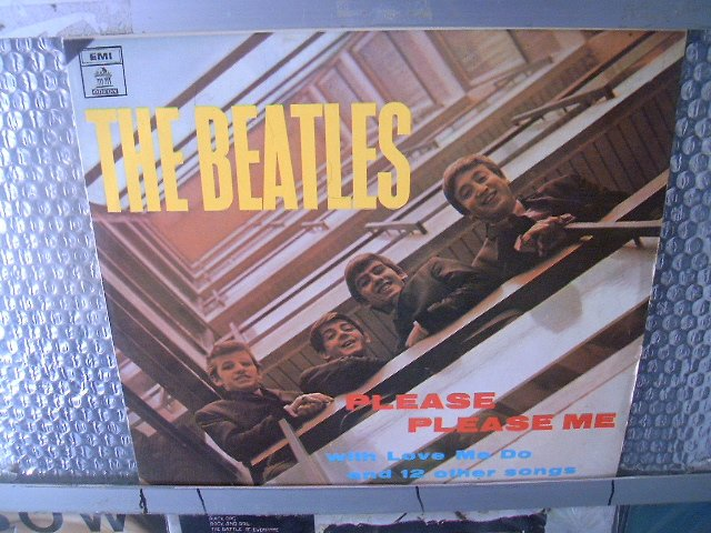 BEATLES please please me LP 1963 ROCK