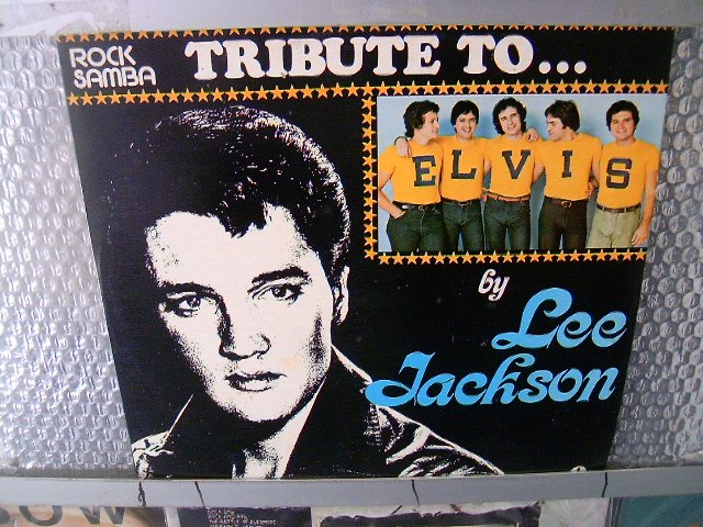 LEE JACKSON tribute to elvis presley LP 1977 ROCK*