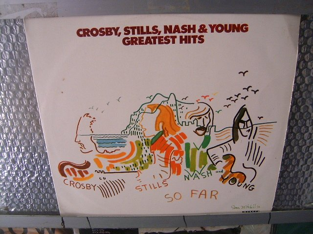 CROSBY, STILLS, NASH & YOUNG greatest hits LP 1974 ROCK**
