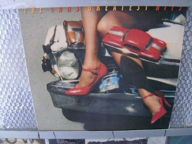 THE CARS greatest hits LP 1985 NEW WAVE