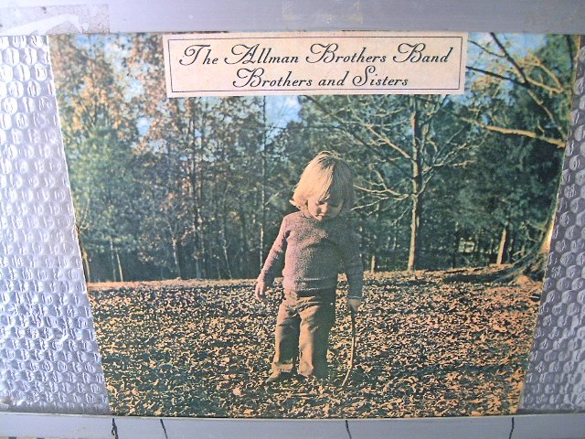 THE ALLMAN BROTHERS BAND brothers and sisters LP 1973 SOUTHERN ROCK