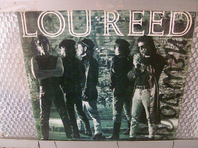 LOU REED new york LP 1989 ALTERNATIVE ROCK**