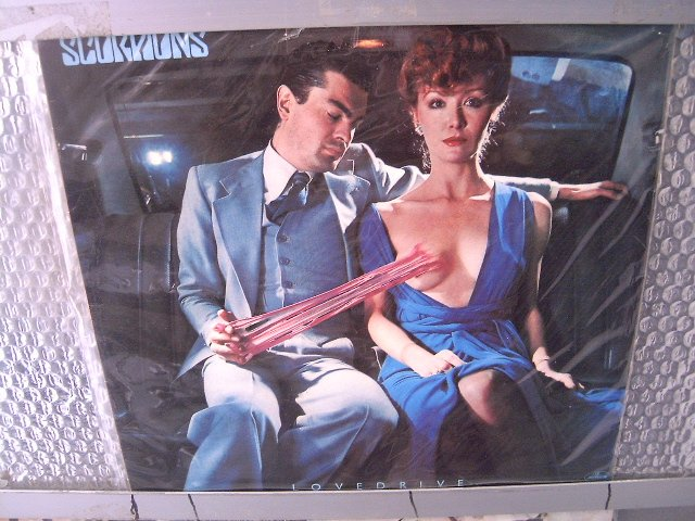 SCORPIONS lovedrive 1984 HARD ROCK*