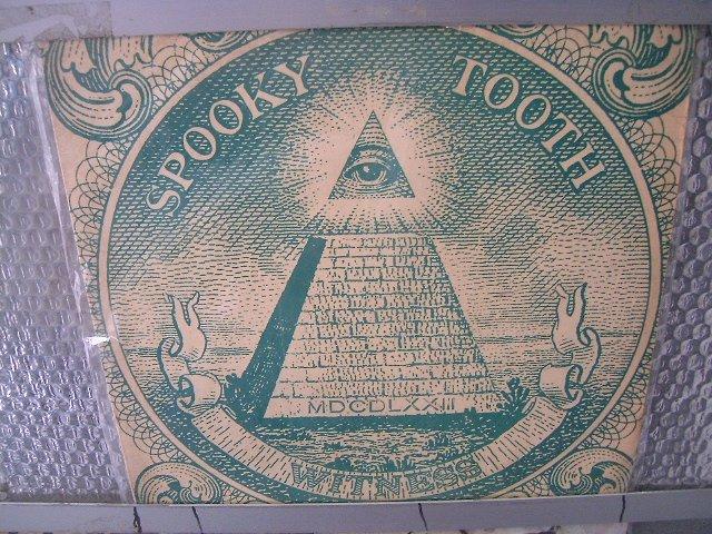 SPOOKY TOOTH witness LP 1974 ROCK**