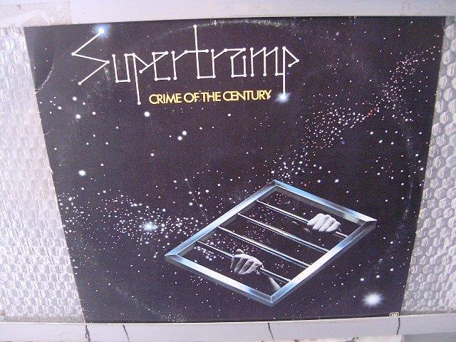 SUPERTRAMP crime of the century LP 1974 ROCK**