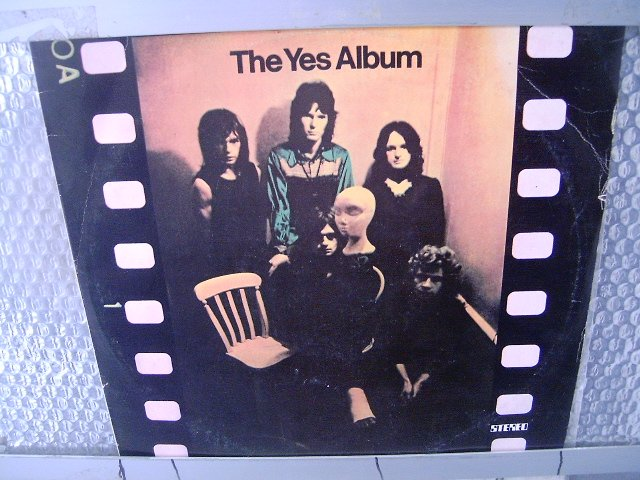 YES the yes album LP 1979 PROGRESSIVE ROCK
