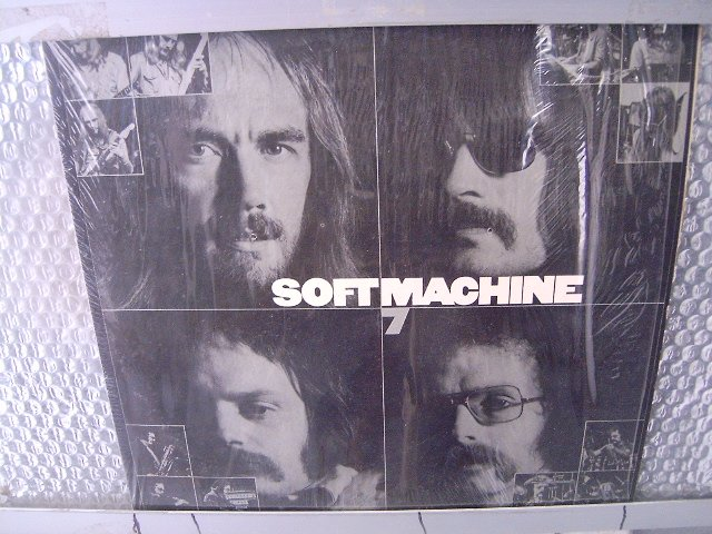 SOFTMACHINE 7 LP 1974 ROCK**