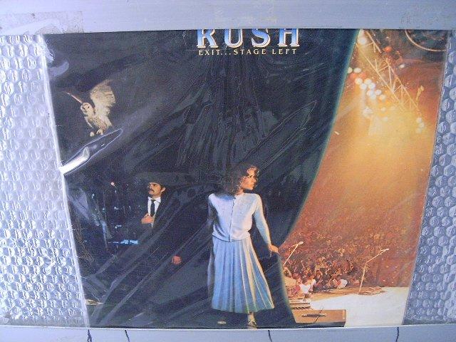 RUSH exit...stage left 2LP 1981 PROGRESSIVE ROCK