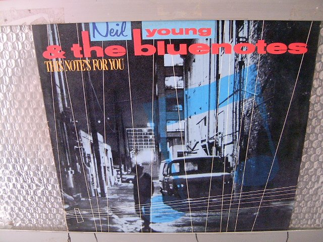 NEIL YOUNG & THE BLUENOTES this notes for you 1988 ROCK