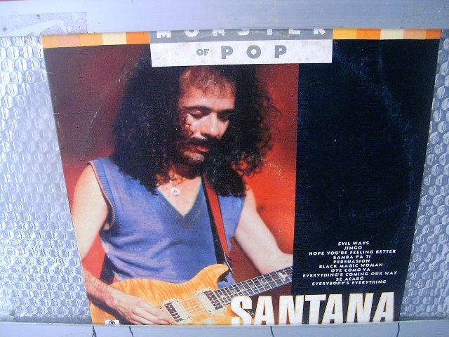 SANTANA monster of pop LP 1992 ROCK*