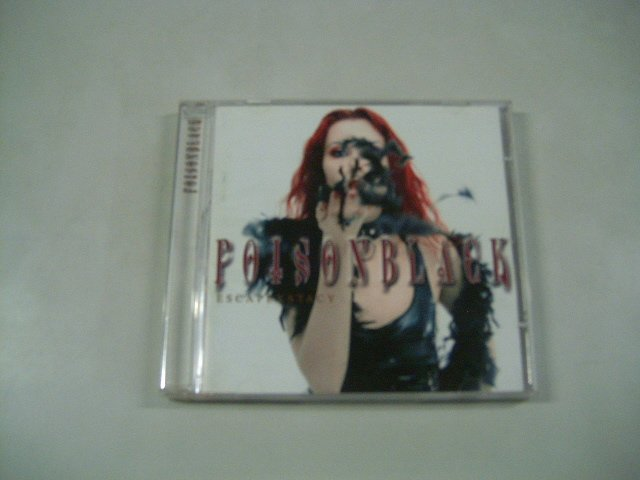 POISONBLACK escapexstacy CD 2002 GOTHIC ROCK METAL