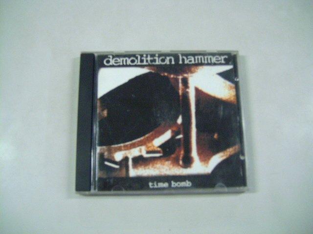 DEMOLITION HAMMER time bomb CD 1994 HEAVY THRASH METAL