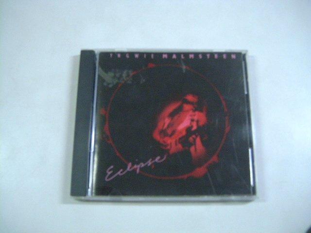YNWIE MALMSTEEN eclipse CD 1990 HARD ROCK HEAVY METAL