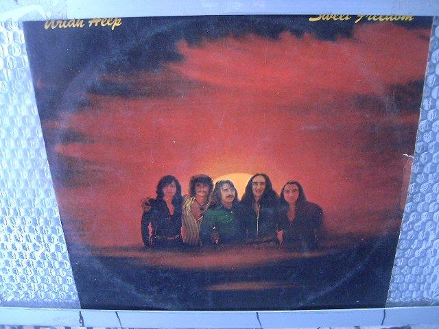 URIAH HEEP sweet freedom LP 1974 ROCK