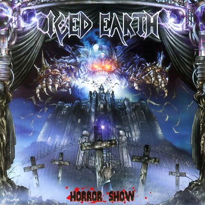 ICED EARTH horror show CD 2001 HEAVY THRASH METAL