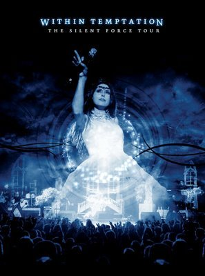 WITHIN TEMPTATION the silent force tour DVD 2005 GOTHIC METAL