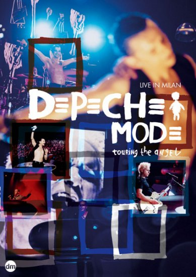 DEPECHE MODE touring the angel live in milan 2DVD 2006 SYNTH POP