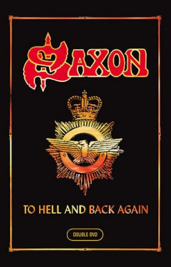 SAXON to hell and back again 2DVD 2007 HEAVY METAL