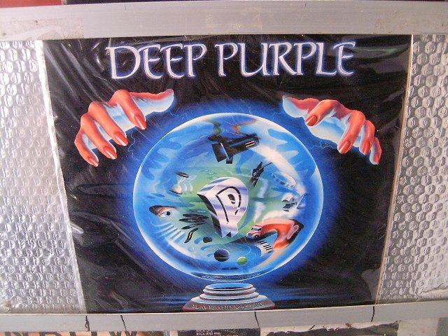 DEEP PURPLE slaves and masters LP 1990 HARD ROCK