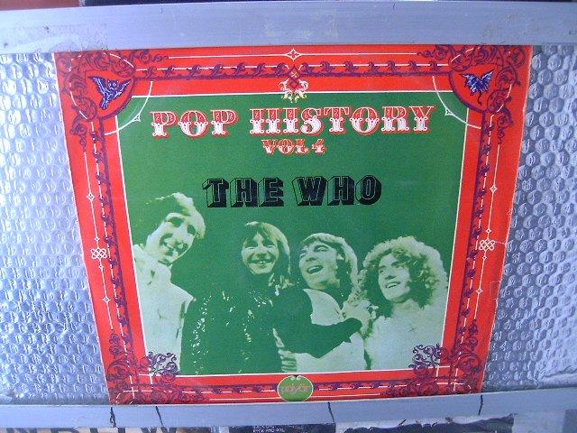THE WHO pop history vol. 4 LP 1972 ROCK
