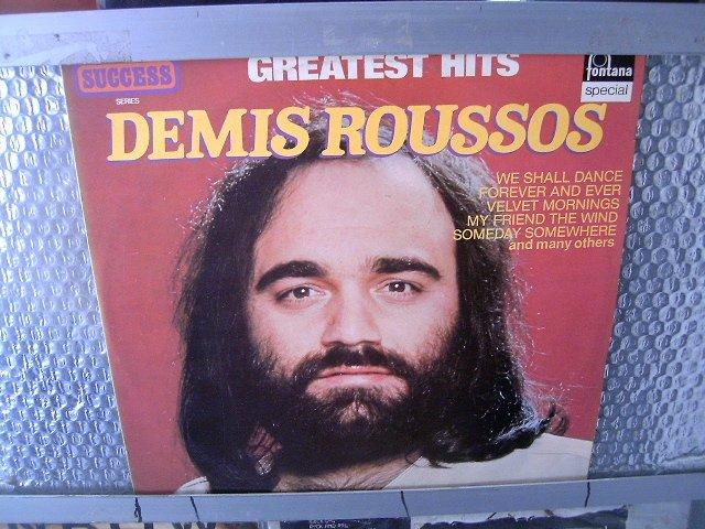 DEMIS ROUSSOS greatest hits LP 1980 ROCK**