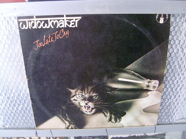 WIDOWMAKER too late to cry LP 1977 HARD ROCK