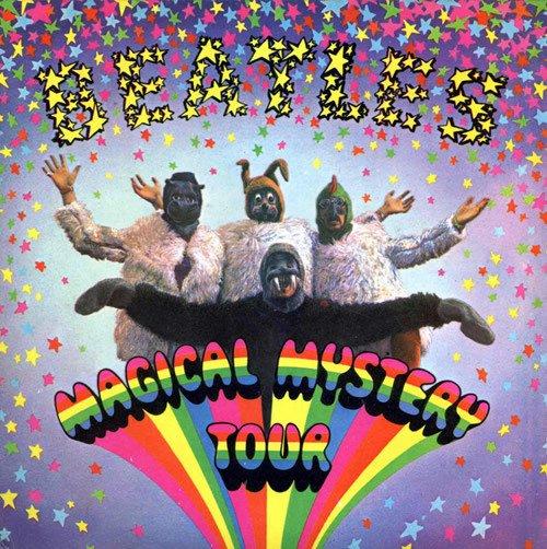 BEATLES magical mystery tour MINI VINYL CD 1967 ROCK