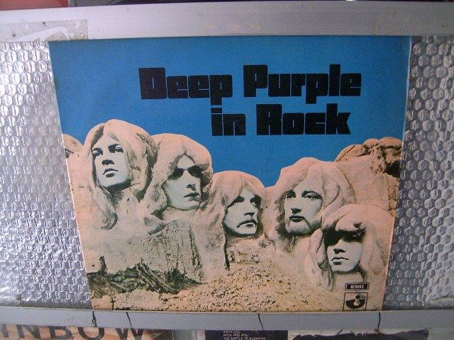 DEEP PURPLE in rock LP 1973 ORIGINAL VINIL HARD ROCK