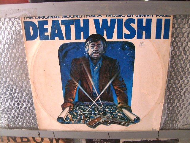JIMMY PAGE deathwish original soundtrack LP 1982 ROCK**