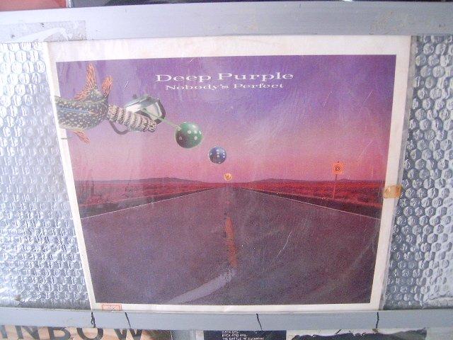DEEP PURPLE nobody's perfect 2LP 1988 HARD ROCK