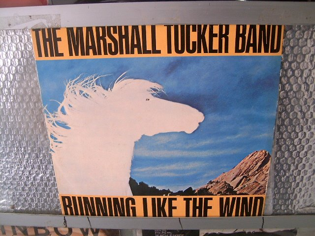 THE MARSHALL TUCKER BAND running like the wind LP 1979 ROCK