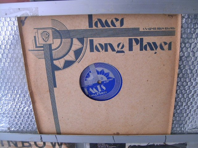 FACES long player LP 1971 ROCK