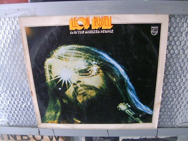 LEON RUSSEL and the shelter people LP 1973 ROCK