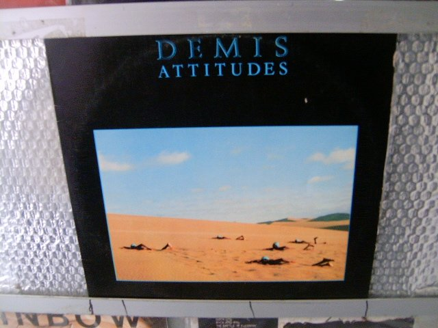 DEMIS ROUSSOS attitudes LP 1982 ROCK**