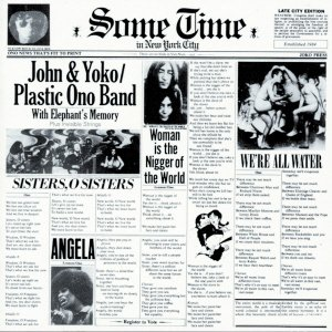 JOHN LENNON some time in new york 2CD FORMATO MINI VINIL 1972 ROCK
